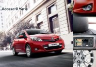 Accesorii Toyota Yaris