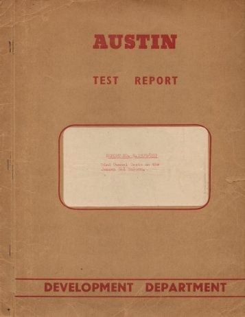 REPORT TEST - Jensen 541.com