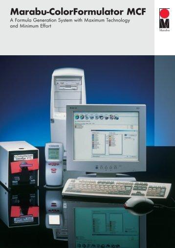 Marabu-ColorFormulator MCF