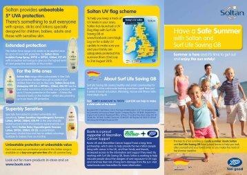 Soltan Sun Leaflet - SLSGB