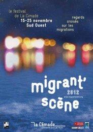 Programme complet. - Migrant scène Sud-Ouest