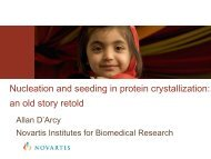 Nucleation and seeding in protein crystallization - Hampton Research