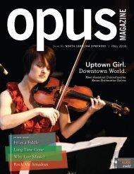 Opus magazine - North Carolina Symphony