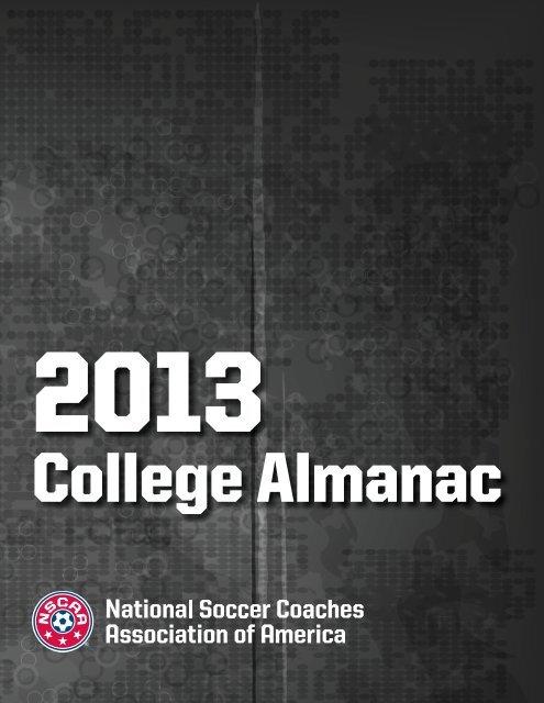 College Almanac National Soccer Coaches Association of America
