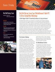 Read the Red Bull Racing Case Study - MobileWorxs