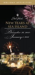New Years Eve 2012 - Sea Island