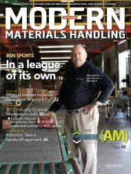 Modern Materials Handling - March 2012