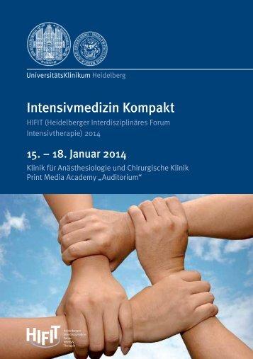 Intensivmedizin Kompakt - HIFIT-Kongress