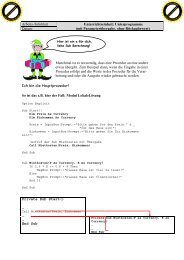 mit Parameterübergabe, ohne Rückgabewert - Klassenwiki