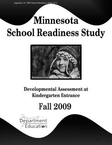 Minnesota School Readiness Study - United Front
