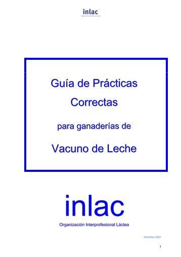Guía de Prácticas Correctas Vacuno de Leche - Ministerio de ...