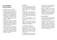 La scinigraphie parathyroīdienne - UZ Brussel: Patientinfo