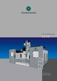 FZ32 - Portal Milling Machine - galika