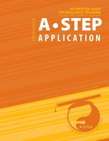 APPLICATION - American Academy of Sleep Medicine