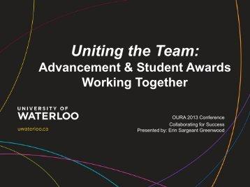 S2 view paper - Ontario University Registrars' Association