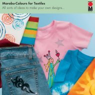 Marabu-Colours for Textiles All sorts of ideas to make your own ...