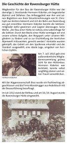 100 Jahre Ravensburger Hütte - Seite 4
