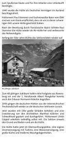 100 Jahre Ravensburger Hütte - Seite 6