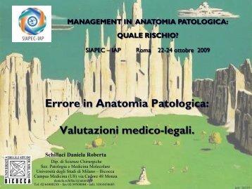 09. Errore in Anatomia Patologica - Siapec