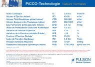 PiCCO-Technologie Valeurs normales - ferronfred.eu