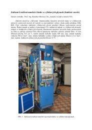 Zařízení k měření množství částic ve výfukových plynech (funkční ...