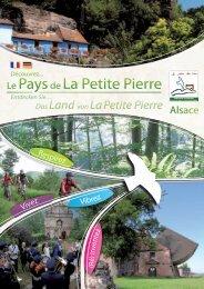 Guide touristique - Office de Tourisme du Pays de la Petite-Pierre
