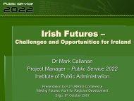 Irish Futures - Urenio