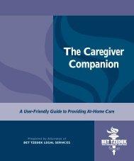 The Caregiver Companion - Bet Tzedek