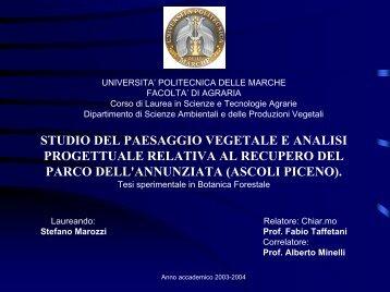 Nessun titolo diapositiva - Museobotanico.univpm.it