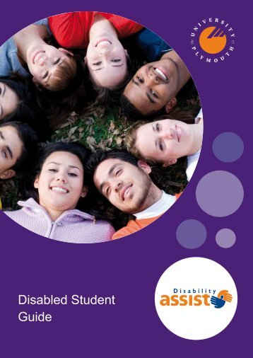 Disability Assist Student Guide - Plymouth University