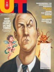 52 MB - University of Toronto Magazine
