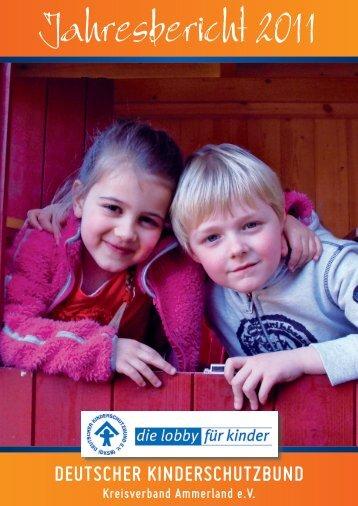 DKSB Jahresbericht 2011 - Kinderschutzbund Ammerland