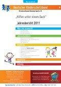 DKSB Jahresbericht 2011 - Kinderschutzbund Ammerland - Seite 3