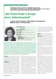 promedia: Interview mit Petra Kammerevert (SPD)