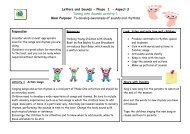 Letters and Sounds - Phase 1 – Aspect 3 Tuning into Sounds activity ...