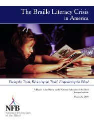 The Braille Literacy Crisis in America - National Federation of the Blind