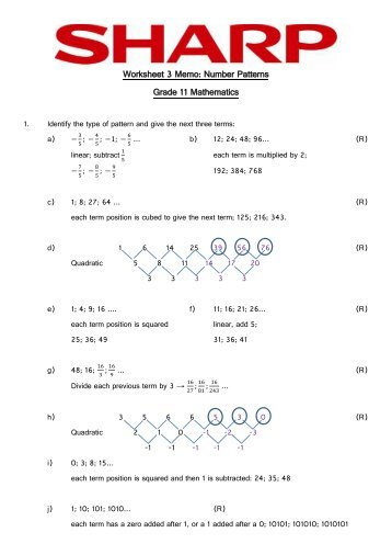 Pattern Worksheets : pattern worksheets grade 3 free ~ Free ...