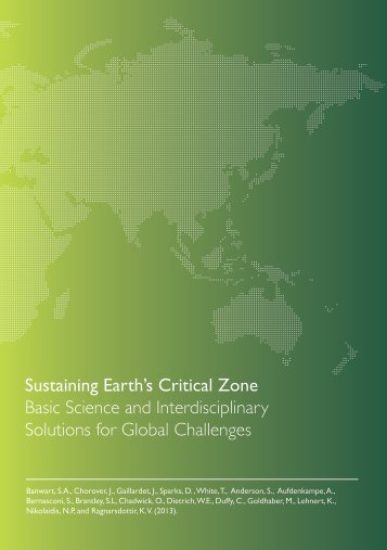 Sustaining Earth's Critical Zone Basic Science and ... - SoilTrEC