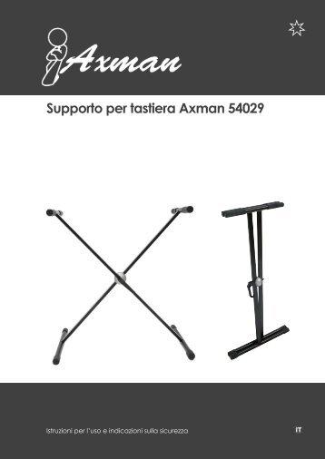 Supporto per tastiera Axman 54029