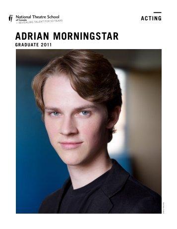 ADRIAN MORNINGSTAR