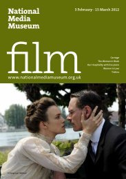 Film Guide 3 February - 15 March 2012 - National Media Museum