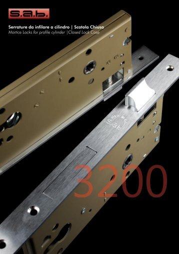 Serrature da infilare a cilindro   Scatola Chiusa Mortice Locks for ...