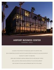 Airport Business Center Brochure - IrvineCompanyOffice.com
