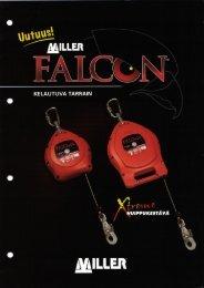 Esite: Miller Falcon-turvatarraimet (PDF, 1,3Mt)