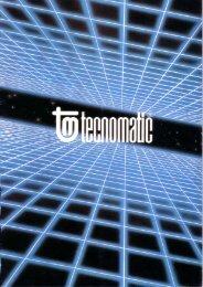 Page 1 ./' *-: --- . Page 2 Tecnomotii production I ine ' l I Catalogue ...