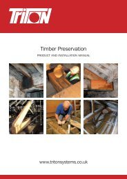 Timber Preservation - Triton Chemicals