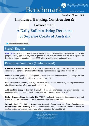 benchmark_17-03-2014_insurance_banking_construction_government