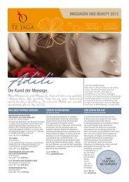 Die Kunst der Massage. - Active Hotel Olympic