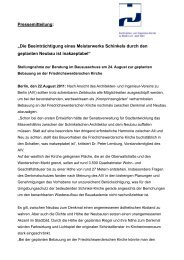 Schinkel-Kirche - Architekten- und Ingenieur-Verein zu Berlin eV