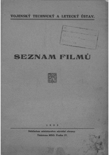 Seznam filmu VTLU (1933) - Valka.cz